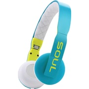 Soul 81971074 Loop On-ear Headphones With Microphone (blue/white)