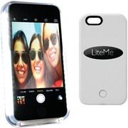 Serene-life SliP201wt iPhone® 6 Plus Lite-me Selfie Lighted Smart Case (white)