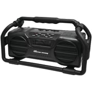 Pyle Pro Pjsr350bk Industrial Boombox Rugged Bluetooth® Speaker (black)