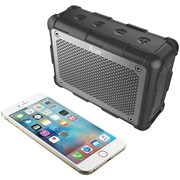 Iluv Impactl3ulbk Portable Water-resistant Bluetooth® Boombox (black)