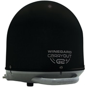 Winegard Gm-6035 Carryout® G2+ Automatic Portable Satellite TV Antenna With Power Inserter (black)