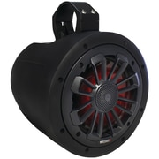 Mb Quart Nt1-116lb Nautic Series 2-way Wake Tower Speaker With Matte Black Finish and Mounting Hardware