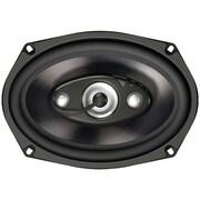 """Dual Dls694 Dls Series 4-way Full-range Speakers (6"""" X 9"""", 200 Watts Max)"""