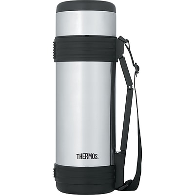 THERMOS NCD1000SS4 1 Liter Stainless Steel Bottle with Folding Handle