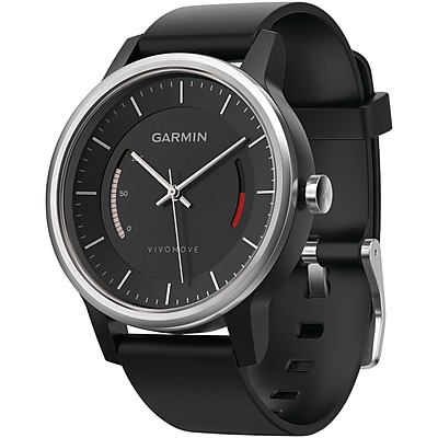 Garmin 010 01597 02 Vivomove Smart Watch sport Band; Black