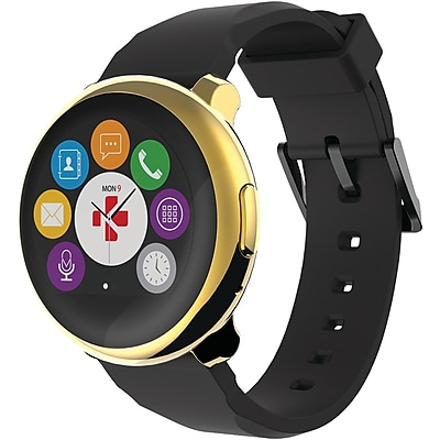 My Kronoz 813761020985 Zeround Smartwatch (yellow Gold/black)