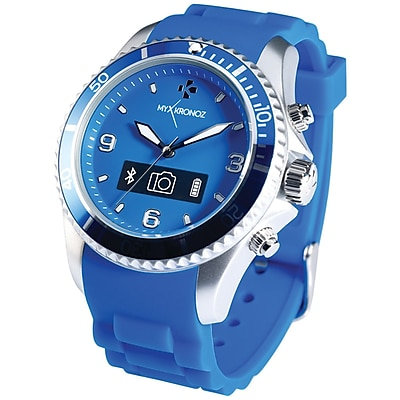 My Kronoz 813761020305 Zeclock Analog Smartwatch (blue)