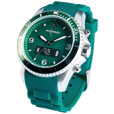 My Kronoz 813761020329 Zeclock Analog Smartwatch (green)