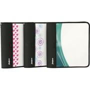 "Zwipes 1-1/2"" Customizable Fashion Binder Assorted"