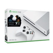 Xbox One S Console, Halo 5 Guardians & Halo The Master Chief Collection Bundle, 500GB