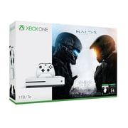 Xbox One S Console, Halo 5 Guardians & Halo The Master Chief Collection Bundle, 1TB