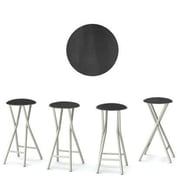 Best of Times Chalk Board 30'' Bar Stool (Set of 4)