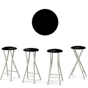 Best of Times Keep Calm and Party On 30'' Bar Stool (Set of 4)