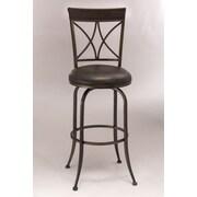 Hillsdale Killona 30'' Swivel Bar Stool with Cushion