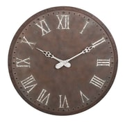 Woodland Imports Loxley 45'' Oversized Wall Clock