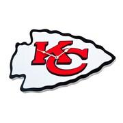 FoamFanatics NFL 15'' Wall Clock; Kansas City Chiefs