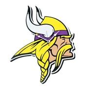 FoamFanatics NFL 15'' Wall Clock; Minnesota Vikings