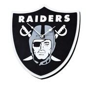 FoamFanatics NFL 15'' Wall Clock; Oakland Raiders