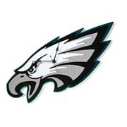 FoamFanatics NFL 15'' Wall Clock; Philadelphia Eagles
