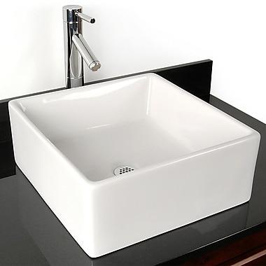 D'Vontz Grenada China Vessel Bathroom Sink