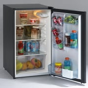 Avanti 4.4 cu. ft. Compact Refrigerator; Black / Stainless Steel