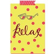 Secretly Designed 'Bright Relax Polka Dot' Graphic Art