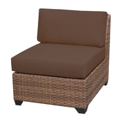 TK Classics Laguna Side Chair (Set of 2); Cocoa