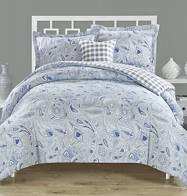 Cumberland Textiles Frazier 4 Piece Reversible Comforter