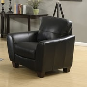 AC Pacific Sawyer Chair; Black