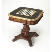 Butler Heritage Antique Pedestal Game Table