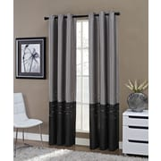 Richloom Home Fashions Horizon Single Curtain Panel