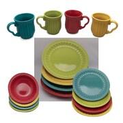 DrewDeRoseDesigns 16 Piece Dinnerware Set