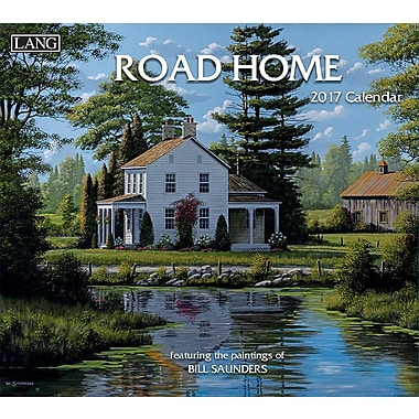 LANG 2017 Wall Calendar: Road Home, (17991001938)