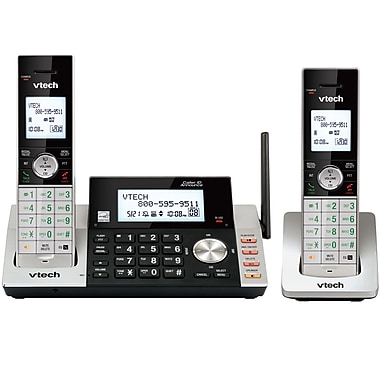 VTech (DS5151-2) 2-Handset Cordless Answering System with Dual Caller ID/Call Waiting