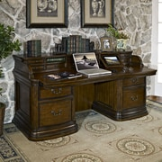 Fairfax Home Collections Winsome Credenza Desk w/ Pullout Top