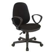 Inland ProHT Mid-Back Desk Chair; Navy