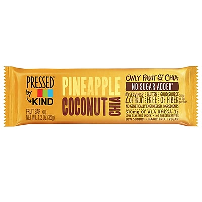 Kind Pressed Pineapple Coconut Chia Bar 2229883