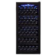Whynter FWC-1201BB Freestanding 124 Bottle Freestanding Wine Refrigerator