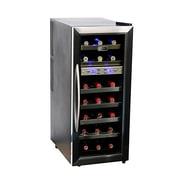 Whynter WC-211DZ Freestanding 21 Bottle Dual Temperature Zone Wine Cooler
