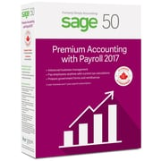Sage 50 Premium with Payroll Accounting 2017, Bilingual