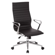 OSP Furniture High-Back Manager's Chair with Arms and Base