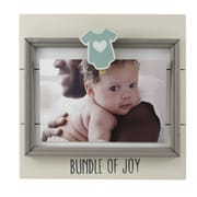 Fetco Home Decor Jethro Newborn Bundle of Joy Picture Frame