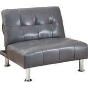 Hokku Designs Fergus Convertible Chair; Gray