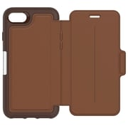OtterBox® Strada Folio Case for Apple iPhone 7, Burnt Saddle (7753973)