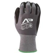 Apollo Material Handlers™ Basic Glove, Touch Screen, Bamboo Knit With Gripping Dots, Medium, Grey