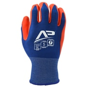 Apollo Material Handlers™ Patriot Glove, Touch Screen, Bamboo Knit With Gripping Dots, Small, Red / Blue