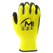 Apollo Miracle Grip™ Hi- Viz Glove, Touch Screen, Nyon With Neverslip Technology® Polyurethane Palm, Medium, Yellow