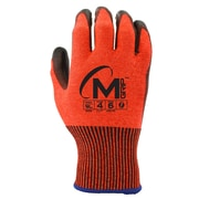 Apollo Miracle Grip™ Cut Protect Glove, ANSI 4 / A4, Touch Screen With Double Dip Polyurethene Palm, X-Large, Red