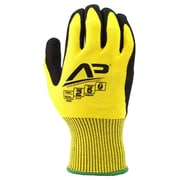 Apollo Tool Grabber™ Cut Protect Glove, ANSI 2 / A2, Touch Screen With Nitrile / PU Coating, 2XL, Yellow