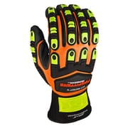 Apollo Cut Protect IV Glove, ANSI 4 / A5, Touch Screen With Impact Protection, 2XL, Hi Viz Orange